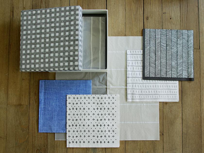 サンクの紙ナプキン