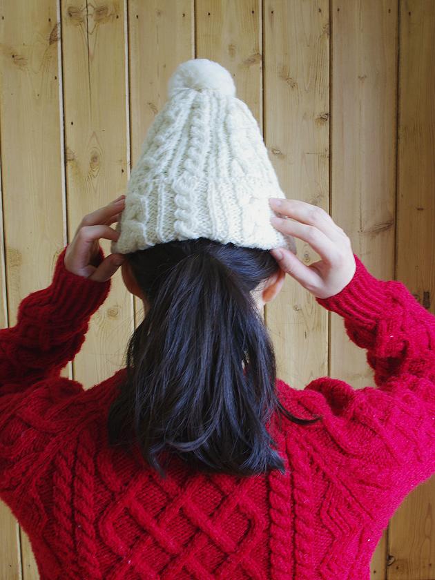 ニット帽(Mサイズ)
