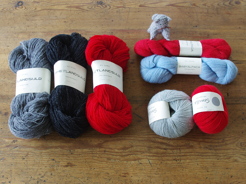 デンマークの毛糸